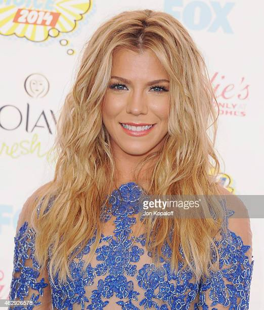 Singer Kimberly Perry of The Band Perry arrives at the 2014 Teen Choice Awards at The Shrine Auditorium on August 10 2014 in Los Angeles California