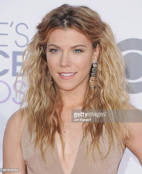 Singer Kimberly Perry of The Band Perry arrives at The 41st Annual People's Choice Awards at Nokia Theatre LA Live on January 7 2015 in Los Angeles...