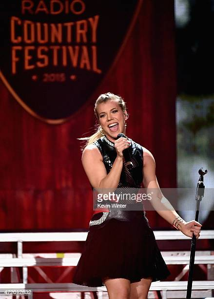 Singer Kimberly Perry of The Band Perry performs onstage during the 2015 iHeartRadio Country Festival at The Frank Erwin Center on May 2 2015 in...