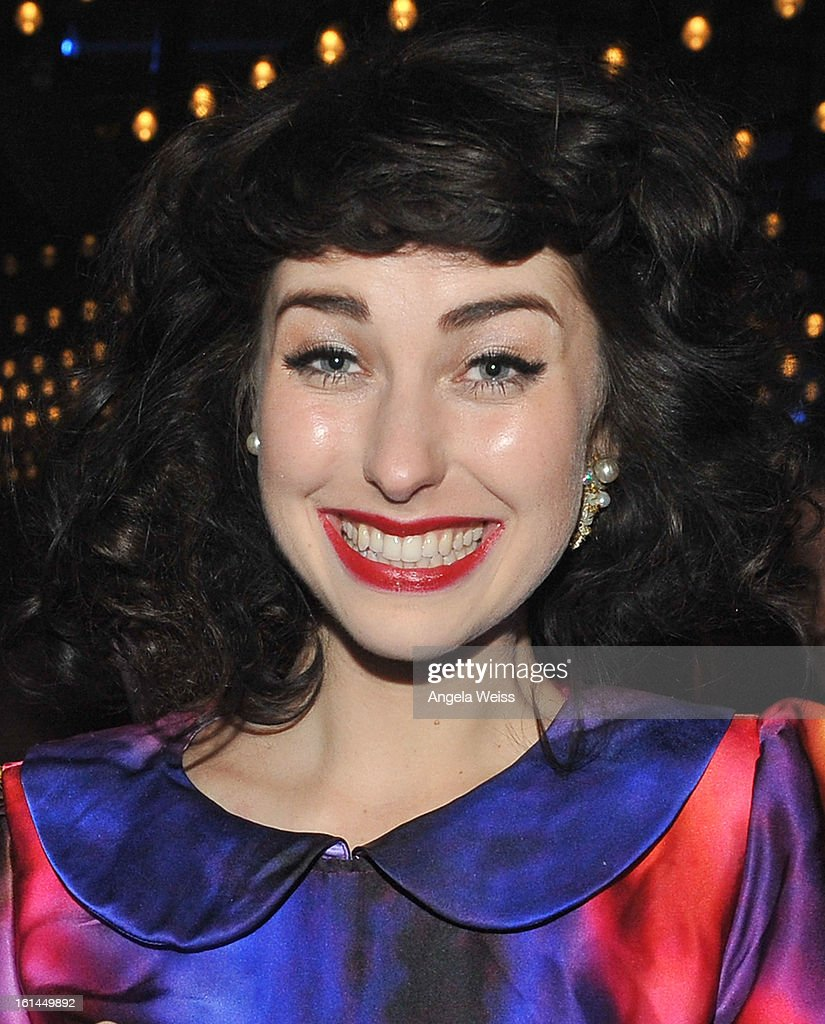 Singer Kimbra attends the Stand Up For A Cure 2013 Concert Series and Republic Records Grammy Party at The Emerson Theatre on February 10, 2013 in Hollywood, California.
