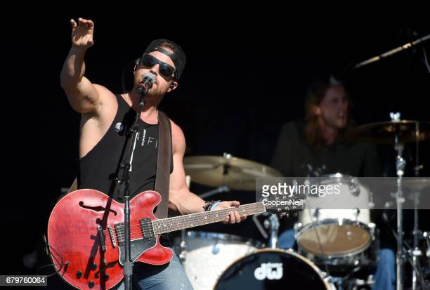 Singer Kip Moore performs live during the 2017 Daytime Village at the iHeartCountry Festival A Music Experience by ATT at The Frank Erwin Center on...