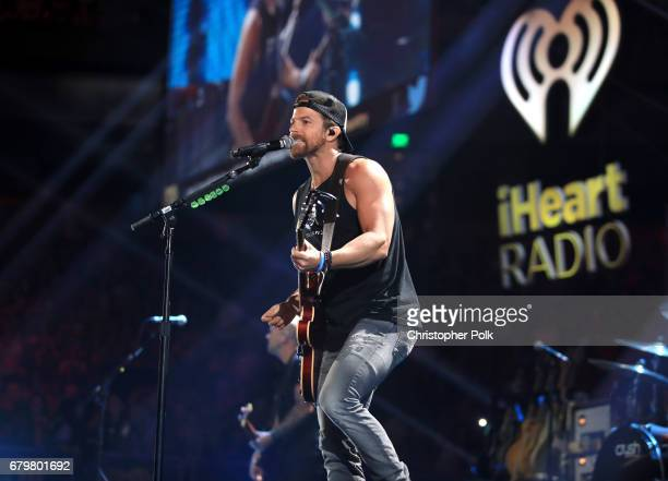 Singer Kip Moore performs onstage during the 2017 iHeartCountry Festival A Music Experience by ATT at The Frank Erwin Center on May 6 2017 in Austin...