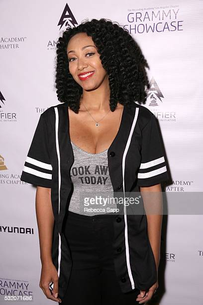 Singer Kirby Maurier attends Los Angeles GRAMMY Showcase at The Fonda Theatre on May 17 2016 in Los Angeles California