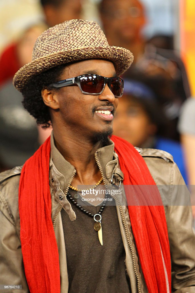 Singer K'naan visits MuchOnDemand at the MuchMusic HQ on April 29, 2010 in Toronto, Canada.
