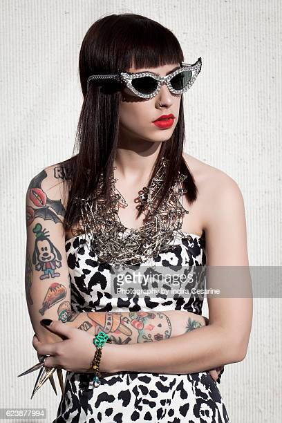 Singer Kreayshawn is photographed for The Untitled Magazine on January 3, 2013 in Los Angeles, California. CREDIT MUST READ: Indira Cesarine/The...