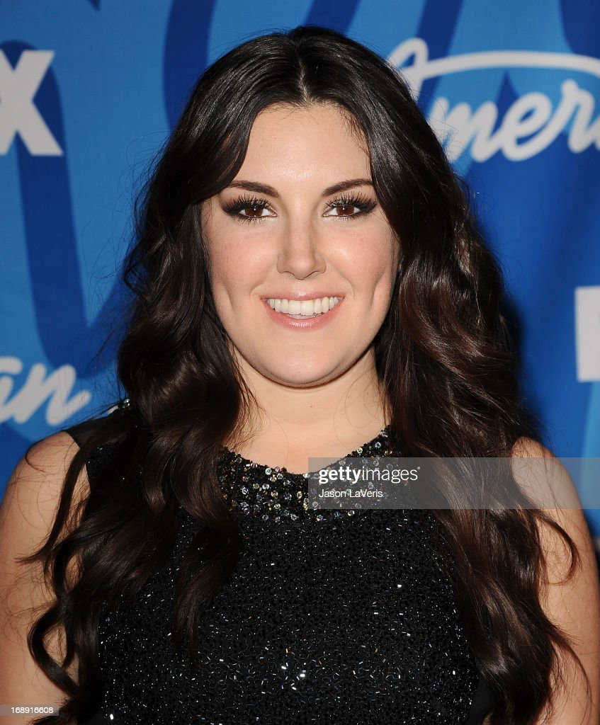 Singer Kree Harrison poses in the press room at the American Idol 2013 finale at Nokia Theatre L.A. Live on May 16, 2013 in Los Angeles, California.