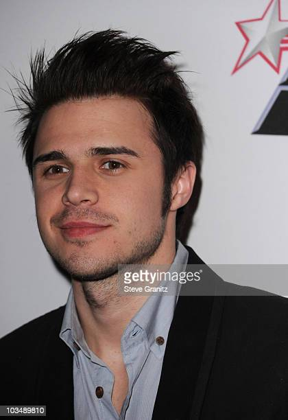 Singer Kris Allen arrives at the 52nd Annual GRAMMY Awards Salute To Icons Honoring Doug Morris held at The Beverly Hilton Hotel on January 30 2010...