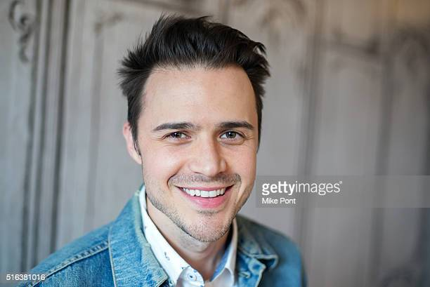Singer Kris Allen attends the AOL Build Speaker Series to discuss his new album Letting You In at AOL Studios In New York on March 18 2016 in New...