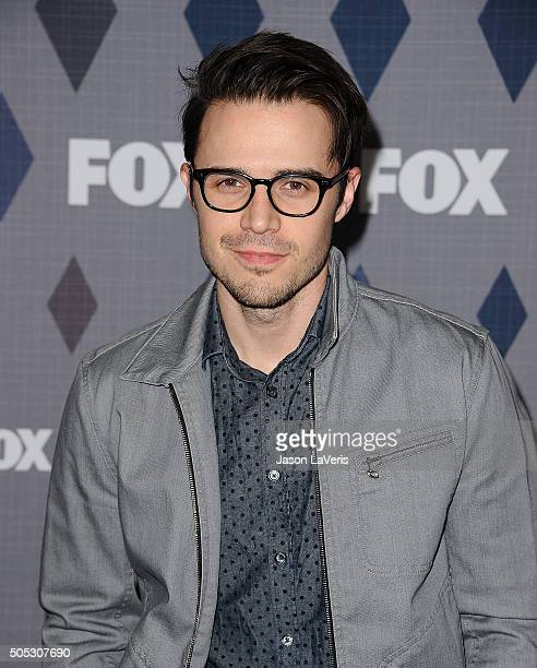 Singer Kris Allen attends the FOX winter TCA 2016 AllStar party at The Langham Huntington Hotel and Spa on January 15 2016 in Pasadena California