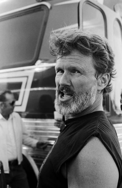 Kris Kristofferson Attends Farm Aid II