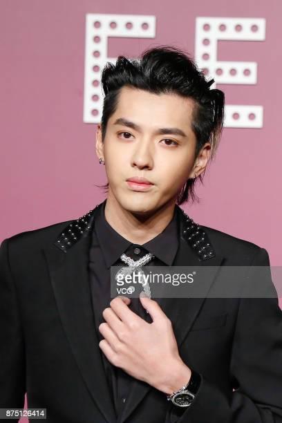 Singer Kris Wu attends Bvlgari Festa high jewelry event at Bvlgari hotel on November 16 2017 in Beijing China
