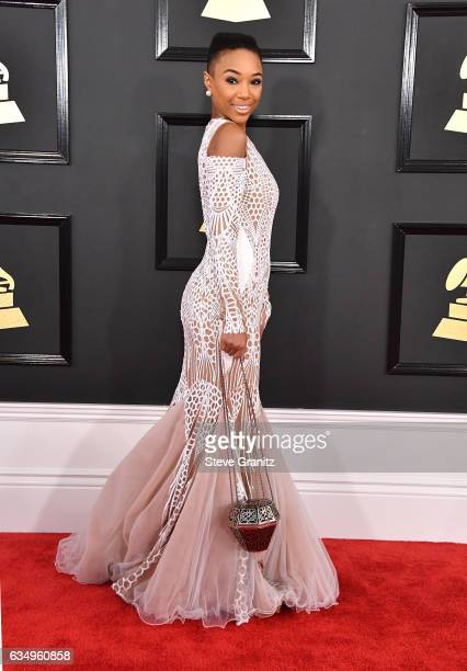 Singer Kriss Mincey attends The 59th GRAMMY Awards at STAPLES Center on February 12 2017 in Los Angeles California