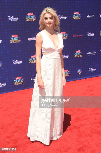 Singer Kristen Hancher attends the 2017 Radio Disney Music Awards at Microsoft Theater on April 29 2017 in Los Angeles California