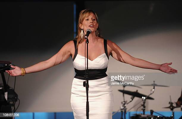 Singer Kristy Cates attends the 8th Annual Jed Foundation Gala at Guastavino's on June 11 2009 in New York City