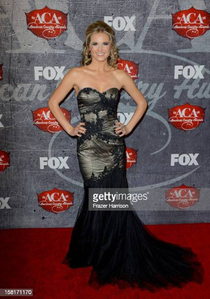 Singer Kristy Lee Cook arrives at the 2012 American Country Awards at the Mandalay Bay Events Center on December 10 2012 in Las Vegas Nevada