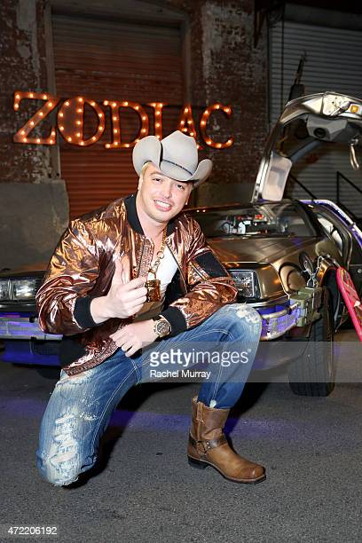 Singer Kuba Ka attends an exclusive launch party introducing Zodiac Vodka to the California market hosted by Zodiac Vodka and Scooter Braun on May 4...