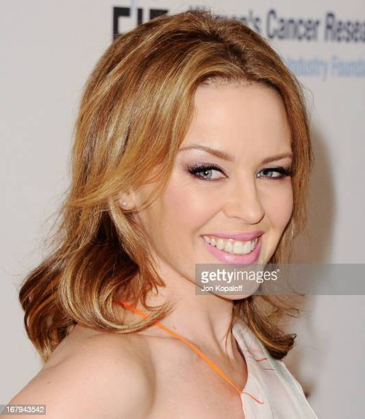 Singer Kylie Minogue arrives at An Unforgettable Evening benefiting EIF's Women's Cancer Research Fund at the Beverly Wilshire Four Seasons Hotel on...