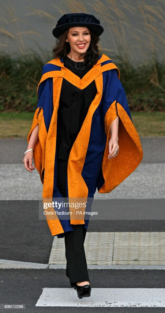 Singer Kylie Minogue Arrives At Anglia Ruskin University Before News Photo Getty Images
