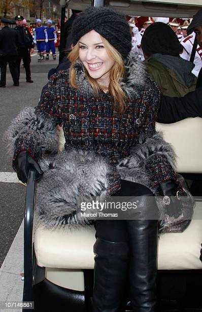Singer Kylie Minogue attends the 84th Annual Macy's Thanksgiving Day Parade on November 25 2010 in New York City
