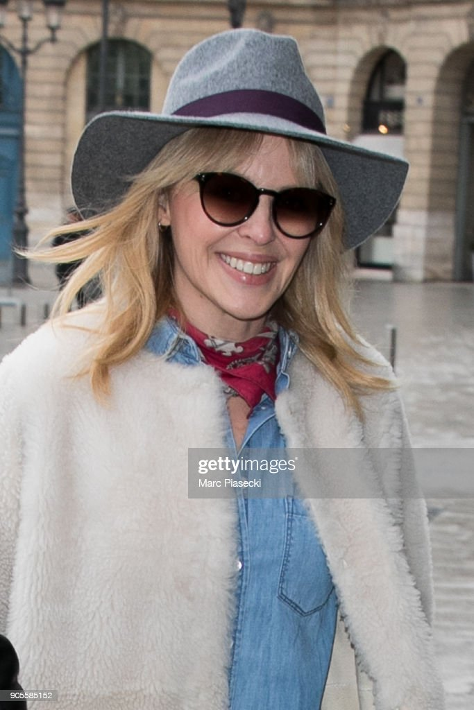 Celebrity Sightings In Paris -  January 16