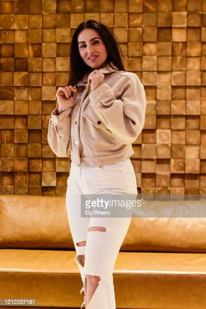 Singer La Mala Rodriguez poses for a portrait session on March 05, 2020 in Madrid, Spain.