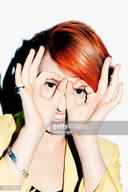 Singer La Roux is photographed for the Observer on April 29 2014 in London England