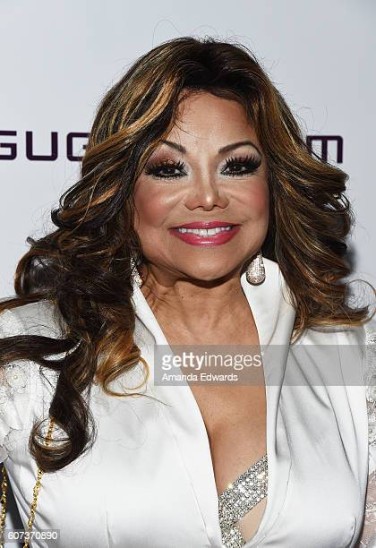 Singer La Toya Jackson arrives at the Annual Brent Shapiro Foundation for Alcohol and Drug Prevention Summer Spectacular on September 17 2016 in...