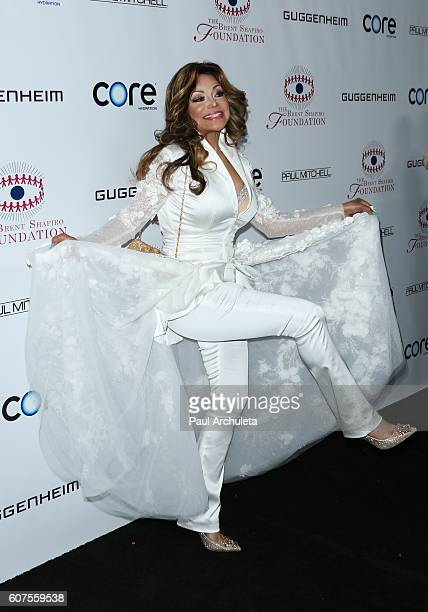 Singer La Toya Jackson attends the annual Summer Spectacular to benefit the Brent Shapiro Foundation for alcohol and drug prevention on September 17...