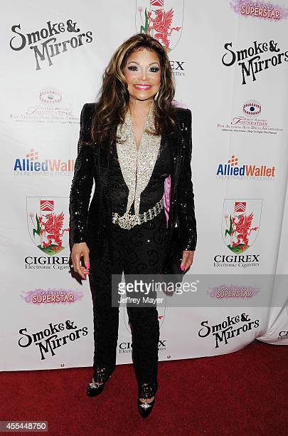 Singer La Toya Jackson attends the Brent Shapiro Foundation for Alcohol and Drug Awareness' annual 'Summer Spectacular Under The Stars' at a private...