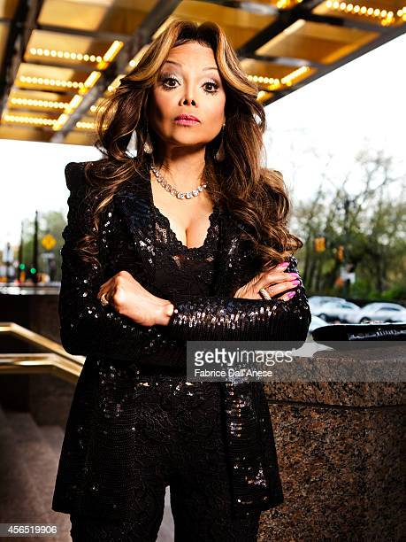 Singer La Toya Jackson is photographed for Self Assignment on April 21, 2013 in New York City.