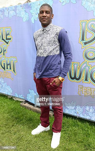 Singer Labrinth attends at the Isle Of Wight Festival at Seaclose Park on June 23 2012 in Newport Isle of Wight