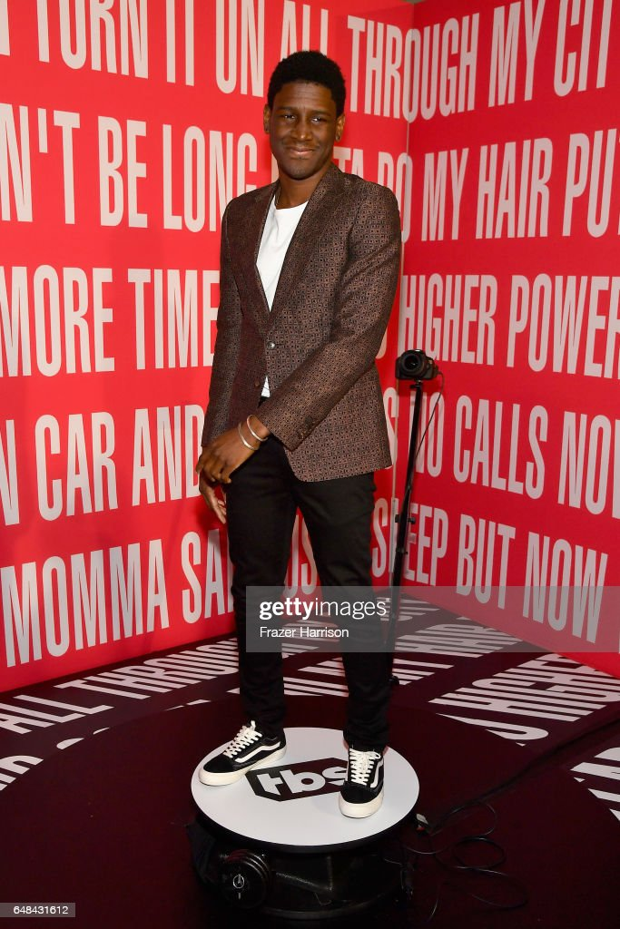 Singer Labrinth attends the 2017 iHeartRadio Music Awards which broadcast live on Turner's TBS, TNT, and truTV at The Forum on March 5, 2017 in Inglewood, California.
