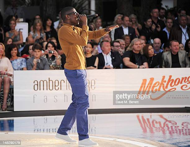 Singer Labrinth attends the Amber Lounge Fashion Show Monaco 2012 at Le Meridien Beach Plaza Hotel on May 25 2012 in Monaco Monaco