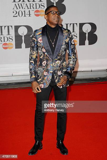 Singer Labrinth attends The BRIT Awards 2014 at 02 Arena on February 19 2014 in London England