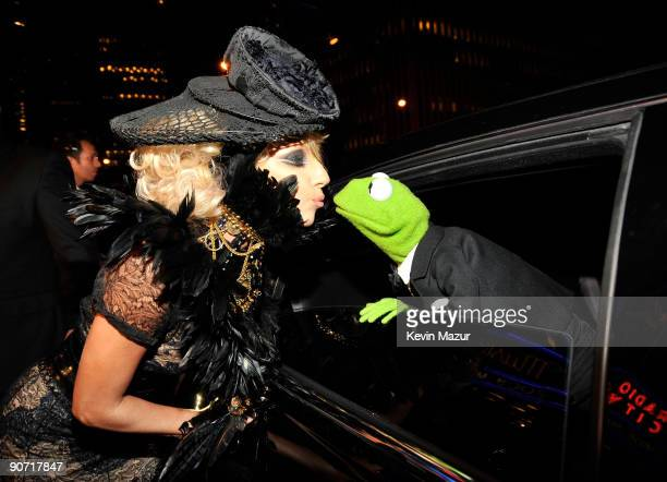 Singer Lady Gaga attends the 2009 MTV Video Music Awards at Radio City Music Hall on September 13, 2009 in New York City.