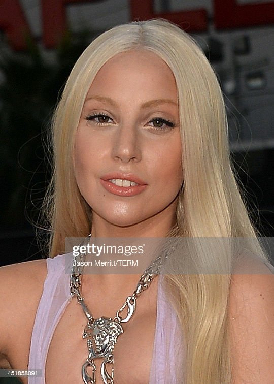 Singer Lady Gaga attends the 2013 American Music Awards at Nokia Theatre L.A. Live on November 24, 2013 in Los Angeles, California.