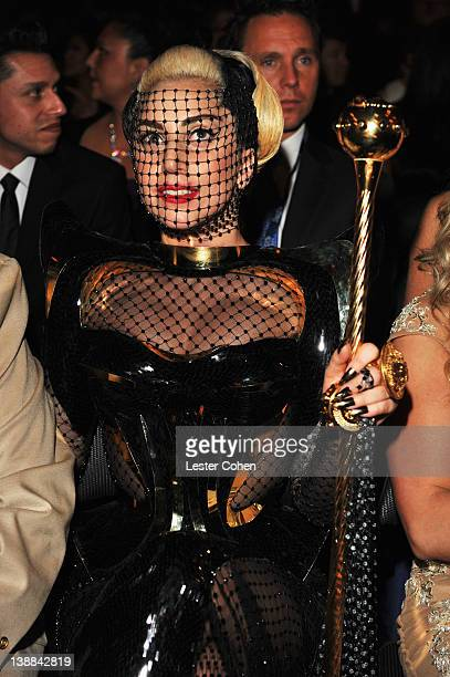 Singer Lady Gaga attends The 54th Annual GRAMMY Awards at Staples Center on February 12, 2012 in Los Angeles, California.