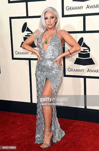 Singer Lady Gaga attends The 57th Annual GRAMMY Awards at the STAPLES Center on February 8, 2015 in Los Angeles, California.