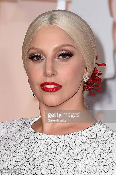 Singer Lady Gaga attends the 87th Annual Academy Awards at Hollywood Highland Center on February 22 2015 in Hollywood California