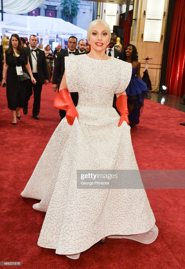 Singer Lady Gaga attends the 87th Annual Academy Awards at Hollywood & Highland Center on February 22, 2015 in Hollywood, California.