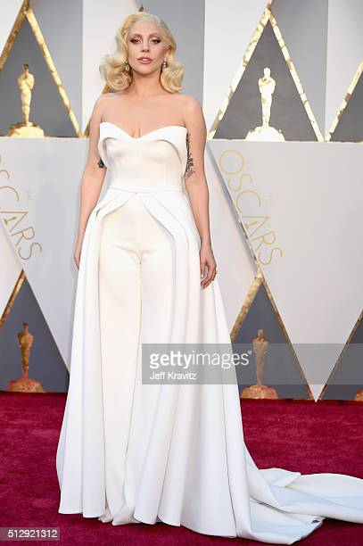 Singer Lady Gaga attends the 88th Annual Academy Awards at Hollywood & Highland Center on February 28, 2016 in Hollywood, California.