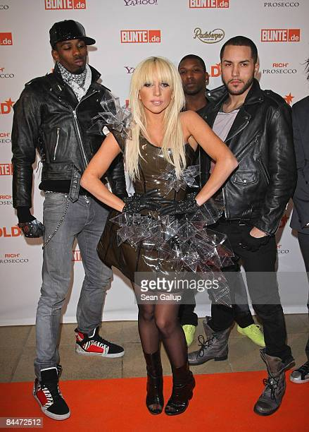 Singer Lady GaGa attends the DLD Star Night at Haus der Kunst on January 26 2009 in Munich Germany