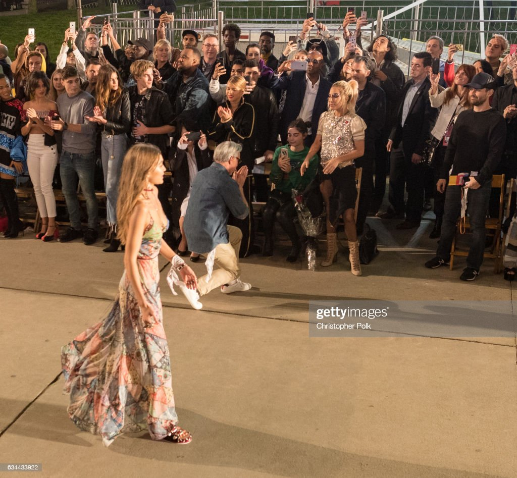 Singer Lady Gaga attends the TommyLand Tommy Hilfiger Spring 2017 Fashion Show on February 8, 2017 in Venice, California.