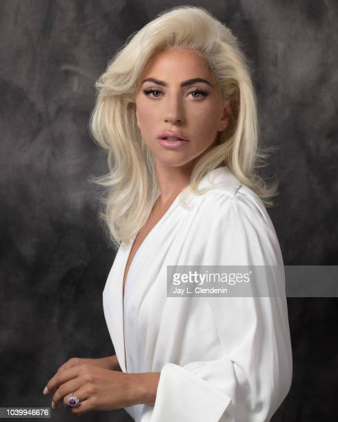 Singer Lady Gaga is photographed for Los Angeles Times on August 23 2018 in Malibu California PUBLISHED IMAGE CREDIT MUST READ Jay L Clendenin/Los...