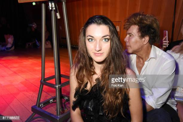 """Singer Lalauraparis attends the """"Paris Appreciation Awards 2017"""" At The Eiffel Tower on July 8, 2017 in Paris, France."""