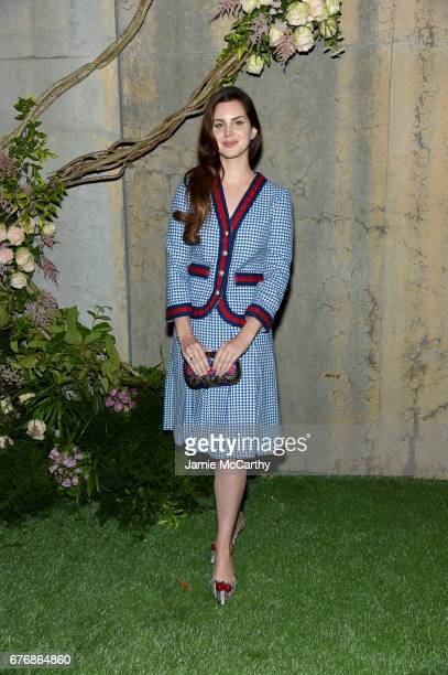 Singer Lana Del Ray attends the Gucci Bloom Fragrance Launch at MoMA PS1 on May 2 2017 in New York City