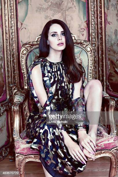 Singer Lana Del Rey is photographed for Fashion Magazine on May 14 2014 in Toronto Ontario PUBLISHED IMAGE