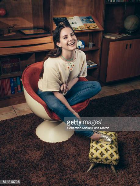 Singer Lana Del Rey is photographed for Paris Match on March 28 2017 in Los Angeles California