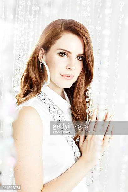 Singer Lana Del Rey is photographed for People Magazine on March 18 2012 in Los Angeles California