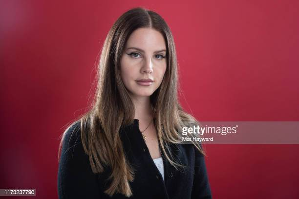 Singer Lana Del Rey poses for a portrait during a visit to 107.7 The End on October 2, 2019 in Seattle, Washington.